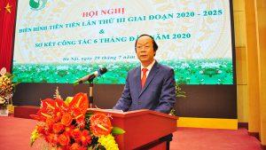 Hội nghị điển hình tiên tiến lần thứ III, giai đoạn 2020 – 2025 và Sơ kết công tác 6 tháng đầu năm, triển khai nhiệm vụ công tác 6 tháng cuối năm 2020 của Tổng cục Môi trường