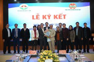 Hội NDVN–Tập đoàn Quế Lâm: Hợp tác phát triển NN hữu cơ