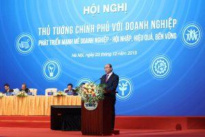 Thủtướng Nguyễn Xuân Phúc: Doanh nghiệp phải hùng hậu, tầm cỡ, quốc gia mới hùng cường