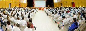 Tập huấn về nCoV cho nhân viên y tế