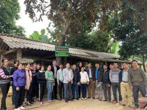 Viện ITD tập huấn ủ phân hữu cơ vi sinh tại huyện Ba Vì